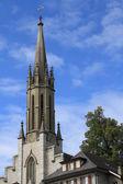 Колокольня католического собора — Стоковое фото