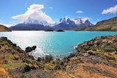 Majestic rocks Los Kuernos — Zdjęcie stockowe