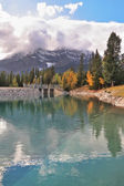 Early autumn in the Canada — Stock Photo