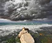 Severe storm cloud — Stock Photo