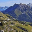 The magnificent Swiss Alps in an autumn — Stock Photo #41488479