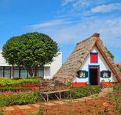 The house-museum of the first settlers on the Madeira — Stock Photo