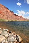 The emerald Colorado River among the mountains  — Stock Photo