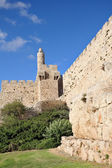 The ancient walls of the Jerusalem — Stock Photo