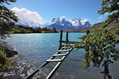 The National Park Torres del Paine in Chile — Stock Photo