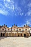 Portugal. Beautiful inner courtyard — Stock Photo