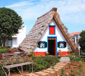 The village - Museum of the Portuguese island of Madeira — Stock Photo