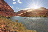 Bend of the Colorado River — Stock Photo
