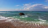 Un surf le onde — Foto Stock