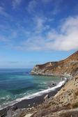 Olas del océano a orillas del océano — Foto de Stock