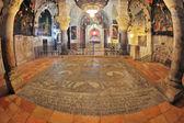 El pasillo en el templo del santo sepulcro. — Foto de Stock