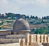 The dome of the Al Aqsa Mosque — Stock Photo