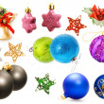 Christmas decorations set. — Stock Photo #6716162