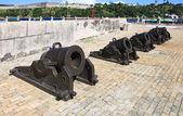 Guns of the castillo de la Real Fuerza. — Stock Photo