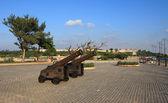 Armas no Malecón à beira-mar. — Fotografia Stock