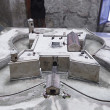 Stock Photo: Model of of castillo de lReal Fuerza.