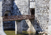 Bridge to the castillo de la Real Fuerza. — Stock Photo