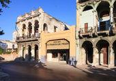 Buildings on the Paseo De Marti (Prado). — Stock Photo
