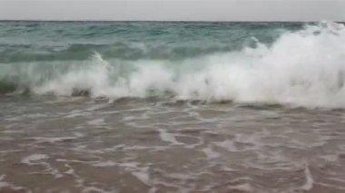 Orage du soir sur la mer rouge. l'egypte, la région de sharks bay (sharm el sheikh), le golfe d'aqaba. — Vidéo