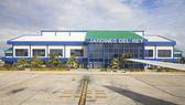 International airport Jardines Del Rey of Cayo Coco. Cuba. — Stock Photo
