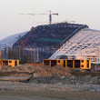 "Stock Photo: Olympic Stadium ""Fischt""(final stage of construction). Sochi. Ru"