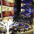 "Stock Video: Modern shopping center ""European"" in Moscow. Timelapse View"