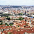 Vltava River and the Charles Bridge in Prague (View from the tow — Stock Photo #31137899