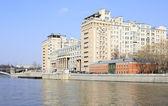 Moscow State Variety Theatre. Bersenevskaya embankment. — Stock Photo