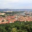 Panorama of historical center of Prague. — Stock Photo