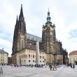 Saint Vitus Cathedral in Prague Castle. — Stock Photo