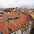 Roofs of houses in the historic center of Prague. — Stock Photo