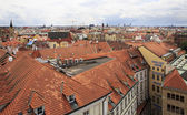 Roofs of houses in the historic center of Prague. — Stock fotografie