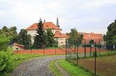 Territory of Strahov Monastery in Prague. — Zdjęcie stockowe