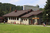 Brewery in Belokuriha resort. Altai. Russia. — Stock Photo