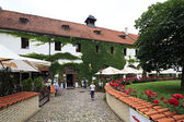"Restaurant ""Strahov Monastic Brewery"" in Prague. — Stock Photo"