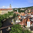 Cesky Krumlov Castle in the Czech Republic. Summer landscape. — Stock Photo