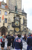 Old Town Hall and Astronomical Clock (Staromestska Radnice). — Stock Photo