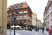 Architektur im historischen Zentrum von Prag. — Stockfoto