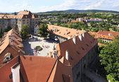 Cesky krumlov kasteel in tsjechische republiek. — Stockfoto