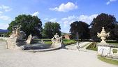 Castle Gardens in Cesky Krumlov. — Stock Photo