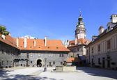 Cesky Krumlov Castle. — Stock Photo