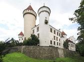 Beautiful Konopiste castle in the Czech Republic. — Stock Photo