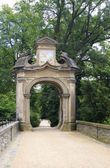 Gateway to Konopiste in the Czech Republic. — Stock Photo