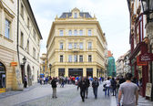 Architecture in the historical centre of Prague. — Stock Photo