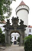 Gateway to Konopiste in the Czech Republic. — Photo