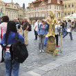 People sculptures on the Old Town Square. — Stock Photo #51099379