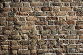 Fragment of Lutsk Castle Brick Wall — Stock Photo
