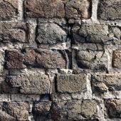 Fragment of Lutsk Castle Brick Wall — Stock Photo