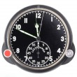 Black stopwatch isolated — Stock Photo