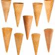 Ice cream cones set — Stock Photo #32176997